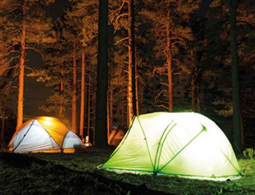 De avondklok en kamperen